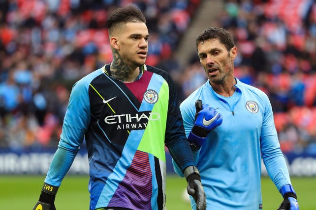 2fcbf5eb881 GRAB AND GO: Ederson got his hands on our mash up shirt.