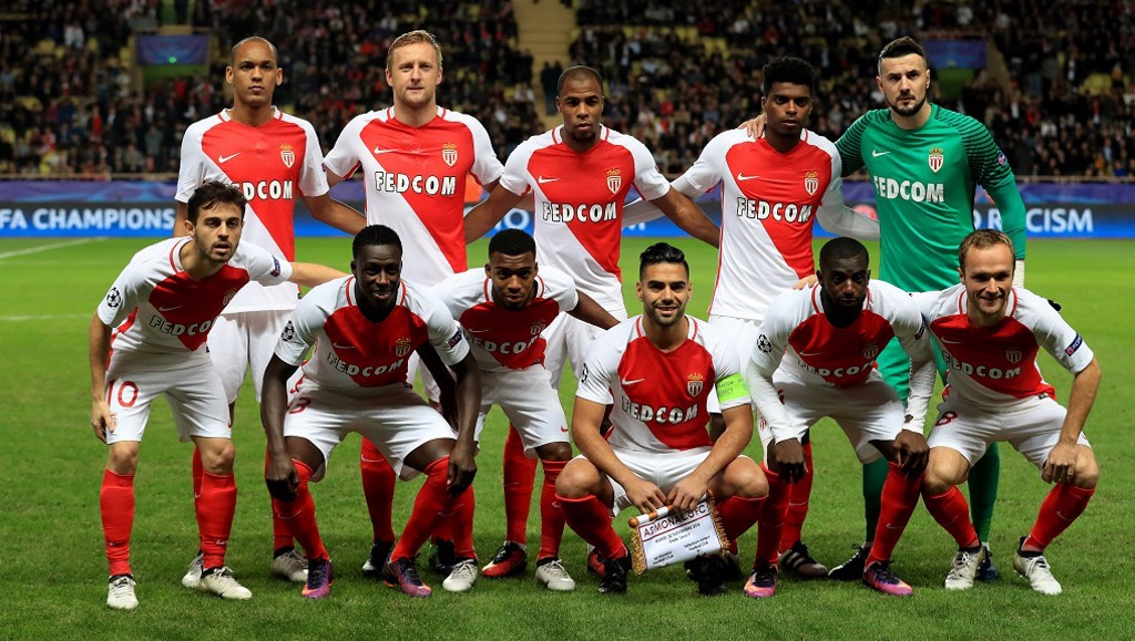 TALENTED SQUAD: The exciting Monaco side that produced so much talent - including Mendy and our other new signing Bernardo Silva