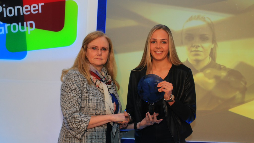 YOUNG STAR: Ellie Roebuck was named the Club's Rising Star by manager Nick Cushing
