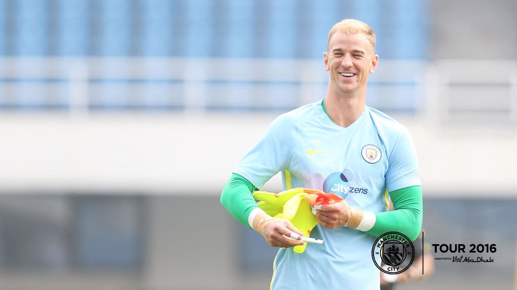 Check out the video from training, as City's international stars joined up with the squad ahead of Monday's Manchester derby!