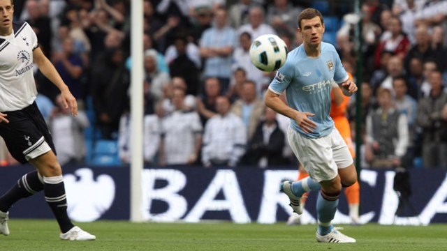 Dzeko Action Tottenham