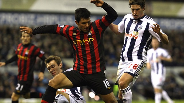 Aguero Action West Brom