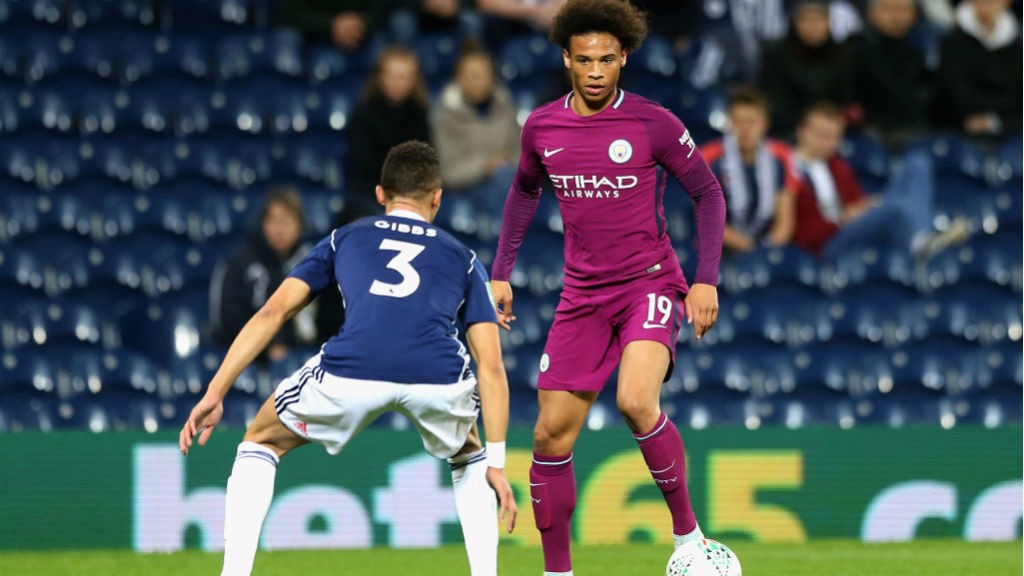 FORWARD MARCH: Leroy Sane puts City on the front foot