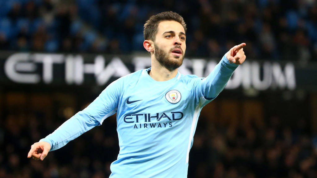 SUPER SUB: Bernardo found the back of the net just two minutes after coming on.