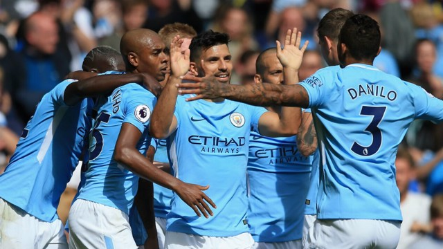 RECORD: Sergio Agüero célèbre son 124e but en Premier League