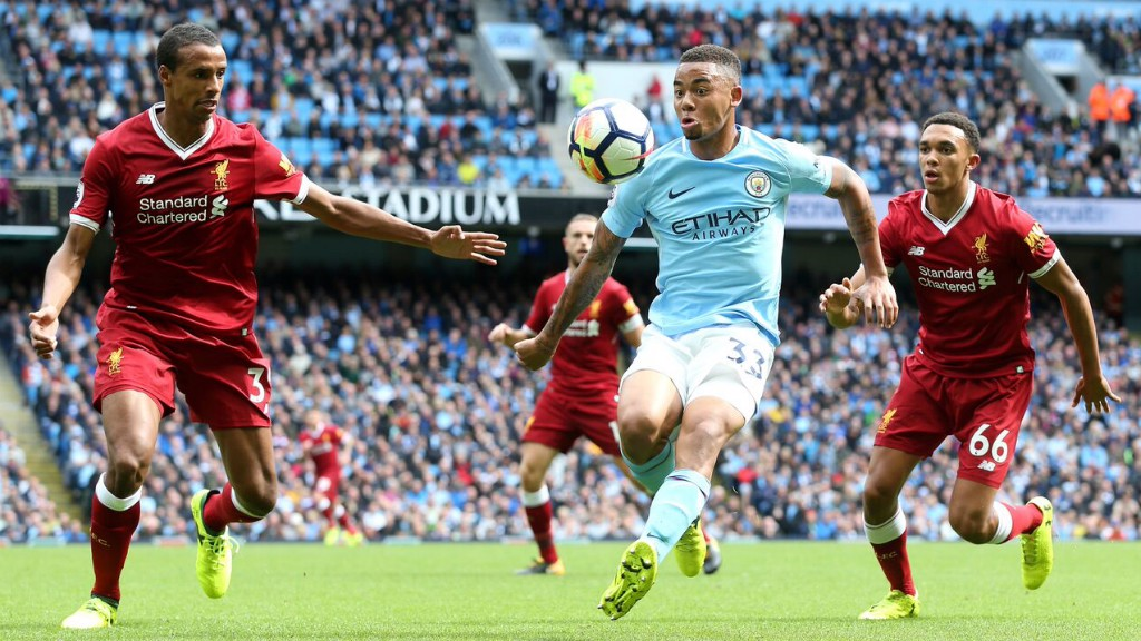 MY BALL: Gabriel Jesus on the chase