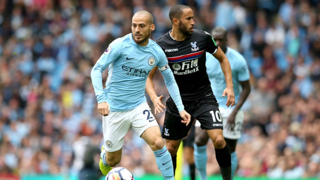 EL MAGO: City's Spanish Wizard goes past Andros Townsend