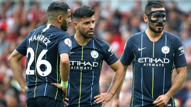 CITY TRIO: What a first half from City!