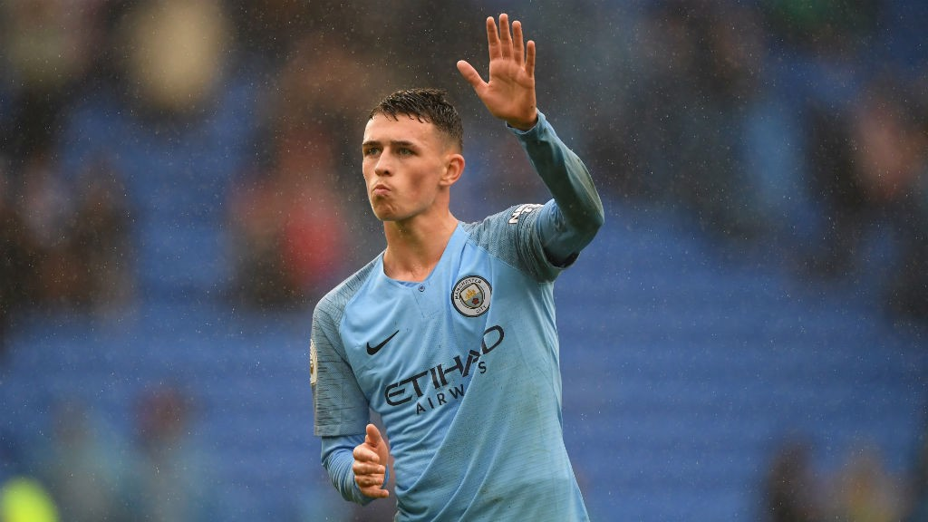 GAME TIME: Phil Foden impressed after coming off the bench