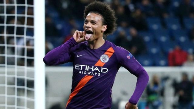 ALL SMILES: Leroy Sane's reaction says it all after David Silva's late winner