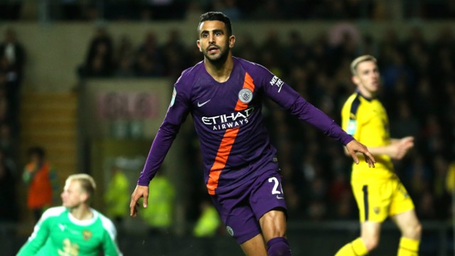 RAMPANT RIYAD: Wheeling away in delight!