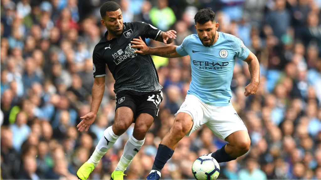 FORWARD MARCH: Sergio Aguero looks to get City powering forward once more