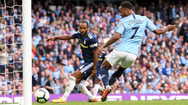 RAZ: Sterling bags City's third from close range