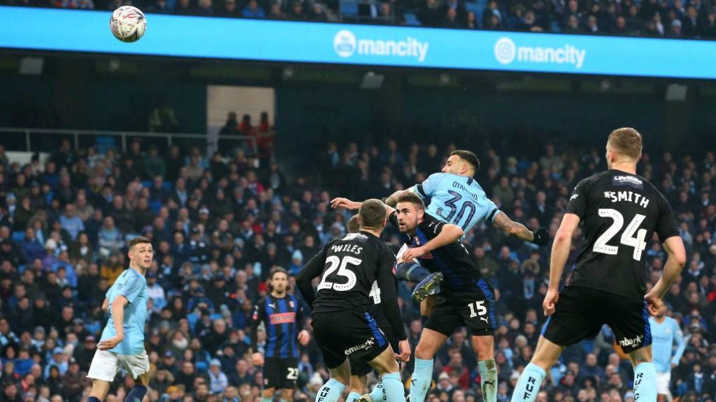 SIX AND THE CITY: Nico powers home a stunning header
