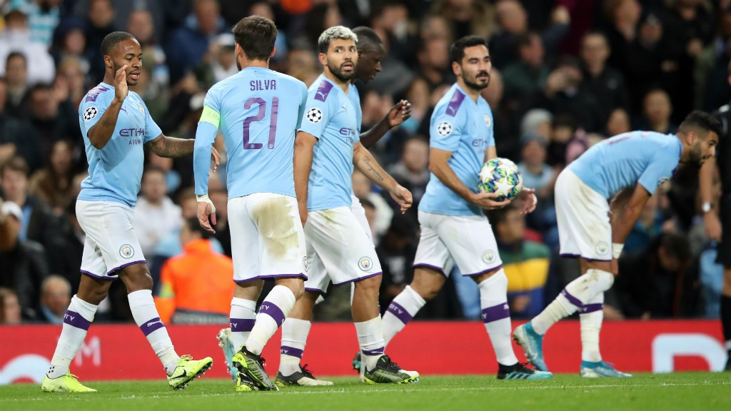FINAL WHISTLE: City beat Dinamo Zagreb 2-0 with goals from Raheem Sterling and Phil Foden