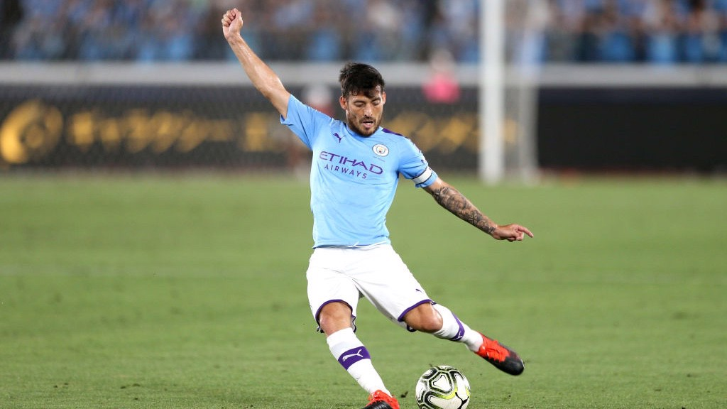 OCHESTRATOR: David Silva pulling the strings in midfield