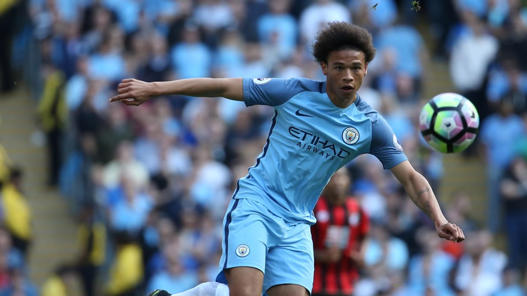 ON SANE: Pep ready for German international to start