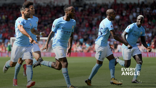 SOUS TOUS LES ANGLES: Sterling vs Bournemouth