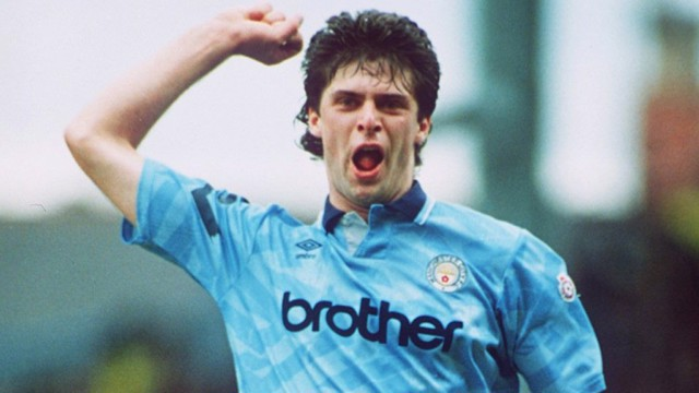NIALL QUINN: Led the line in 1992/93