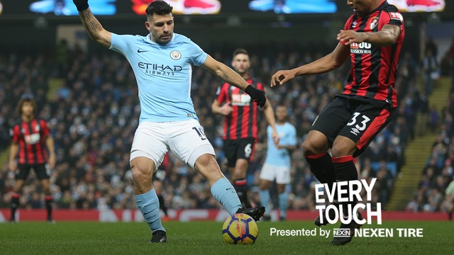 EVERY TOUCH: We take a closer look at Sergio Aguero's magnificent performance against Bournemouth.