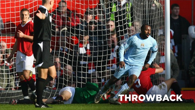 THROWBACK: A look back at the classic Manchester Derby at Old Trafford in 2008.