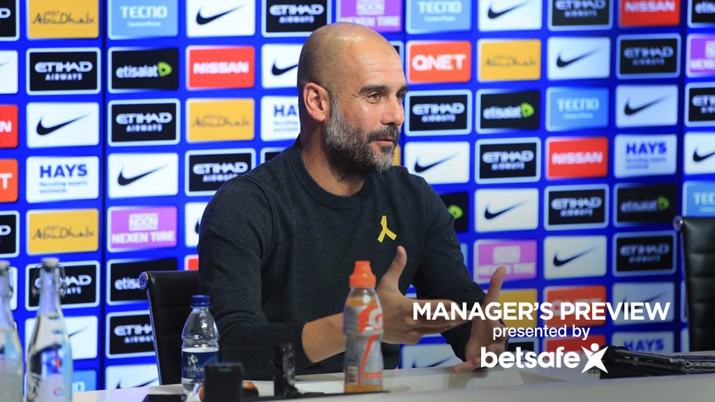 BOSS VIEW: Pep Guardiola previews the Swansea game