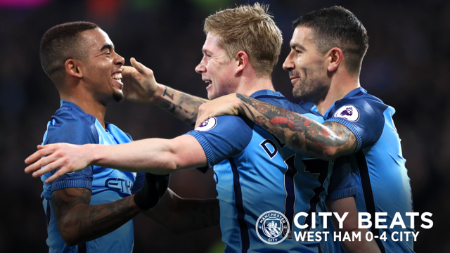 CITY BEATS: Great musical highlights as City take on West Ham