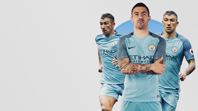 THANK YOU ALEKS: Kolarov has left City after seven years to join Italian side Roma