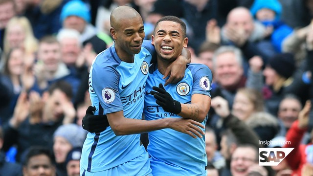 BLISTERING START: Gabriel Jesus impressed in his first few months at City