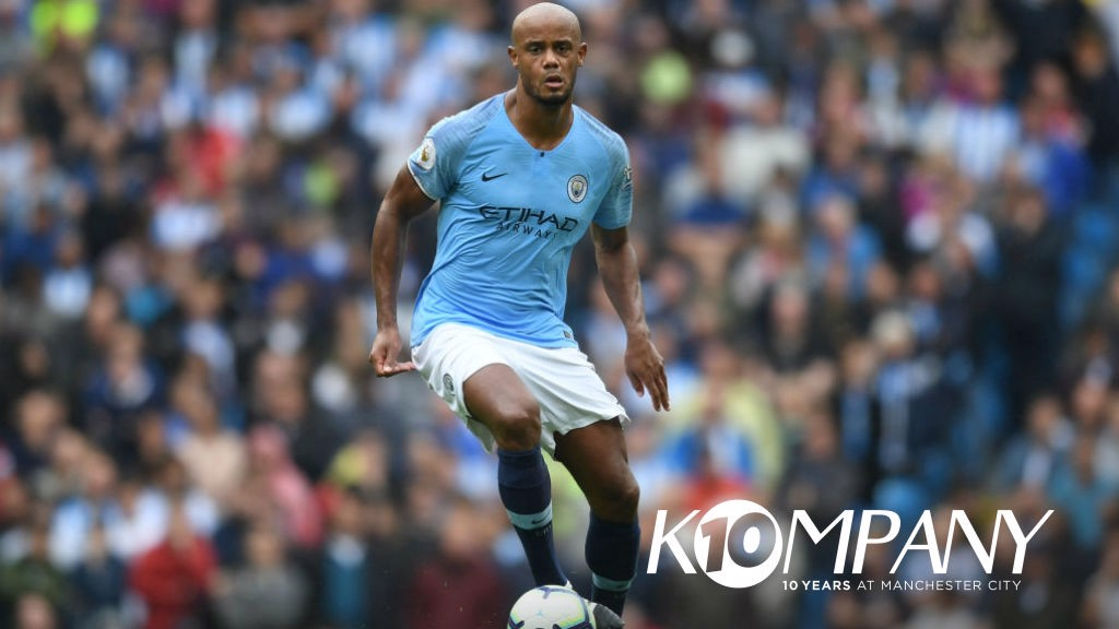 GOOD KOMPANY: Today marks a decade since Vincent 's arrival at City