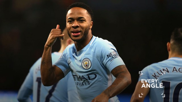 EVERY ANGLE: Raheem Sterling's goal against Watford from every angle.