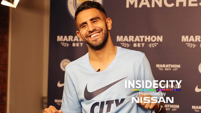 INSIDE CITY: Mahrez first day special