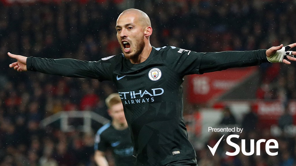 MAGICIAN: David Silva's powers have been stronger than ever this season