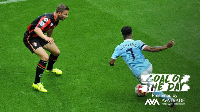 GOATD: Today's trip down memory lane showcases Raheem Sterling's brilliant solo goal v Bournemouth in 2015