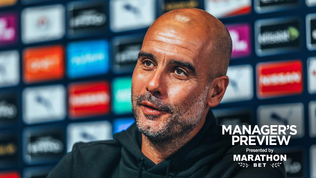 PRE-MATCH: Pep Guardiola speaks to the media ahead of our trip to Crystal Palace.