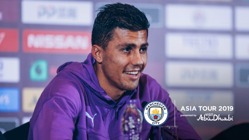 PRESS CONFERENCE: Rodri addresses the media