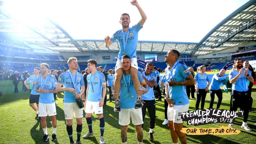 CHAMPIONS: City's Premier League dominance highlighted by series of impressive stats